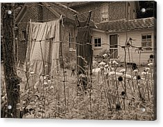 Chellberg Laundry Acrylic Print