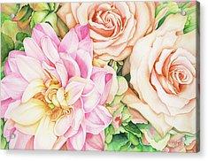Chelsea's Bouquet Acrylic Print