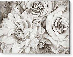 Chelsea's Bouquet - Neutral Acrylic Print