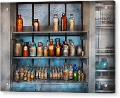 Chemist - My First Chemistry Set  Acrylic Print by Mike Savad