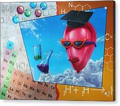 Chemistry Acrylic Print by Jack Knight