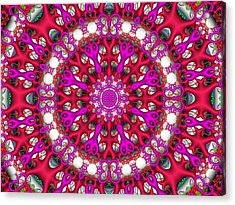 Acrylic Print featuring the digital art Chemistry by Robert Orinski