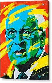 Cheney Acrylic Print by Dennis McCann