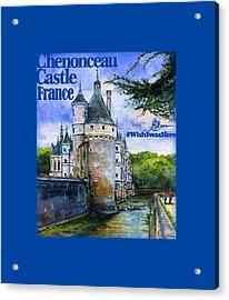 Chenonceau Castle Shirt Acrylic Print