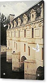 Chenonceau Dreams Acrylic Print