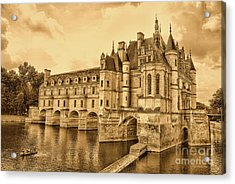 Chenonceau Acrylic Print