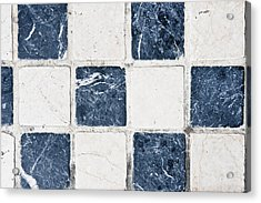 Chequered Tiles Acrylic Print