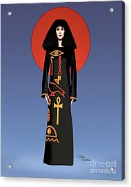 Cher Egyptian Dress Acrylic Print