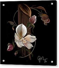 Cherokee Rose Acrylic Print