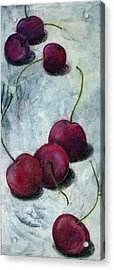 Cherries Jubilee Acrylic Print by Sandy Clift