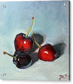 Cherries Jubillee Acrylic Print
