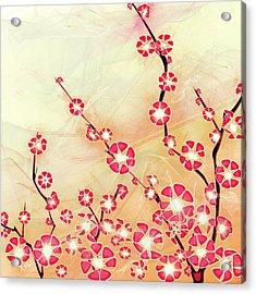 Cherry Blossom Acrylic Print by Anastasiya Malakhova