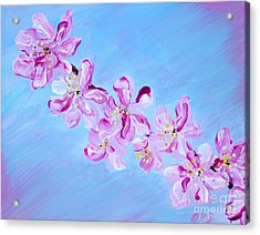 Cherry Blossoms. Thank You Collection Acrylic Print
