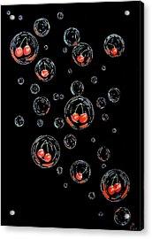 Cherry-bubs Acrylic Print