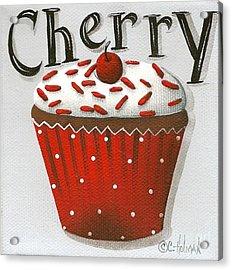 Cherry Celebration Acrylic Print by Catherine Holman