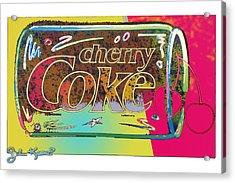 Cherry Coke 1 Acrylic Print by John Keaton