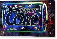 Cherry Coke 2 Acrylic Print by John Keaton