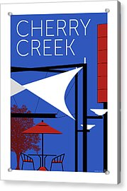 Cherry Creek Blue Acrylic Print