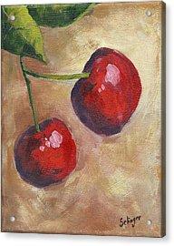 Cherry Duo Acrylic Print