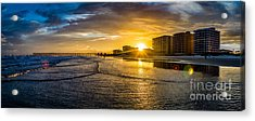Cherry Grove Sunset Acrylic Print