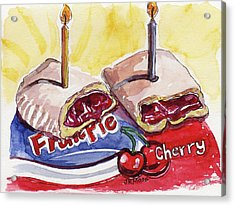 Cherry Pie Indulgence Acrylic Print