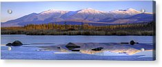 Cherry Pond Reflections Panorama Acrylic Print