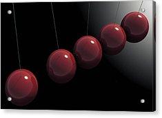 Cherry Red Knockers Acrylic Print by Richard Rizzo