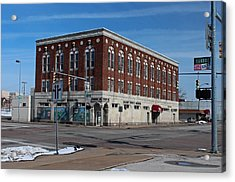 Cherry Street Mission In Winter Acrylic Print