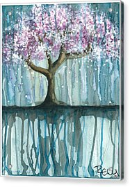 Fruit Tree #2 Acrylic Print by Rebecca Childs