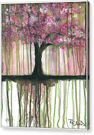 Fruit Tree #3 Acrylic Print by Rebecca Childs