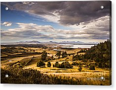 Cherry Tree Hill Lookout Acrylic Print