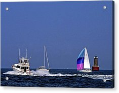 Chesapeake Bay Action Acrylic Print