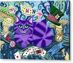 Cheshire Cat - Alice In Wonderland Acrylic Print