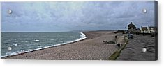 Chesil Beach November 2013 Acrylic Print