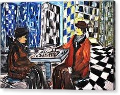 Chess Mania Acrylic Print
