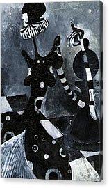 Chess Acrylic Print by Maya Manolova