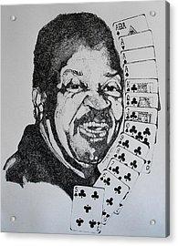 Chester Johnson Tribute  Acrylic Print