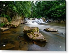 Chestnut Creek Falls  Acrylic Print