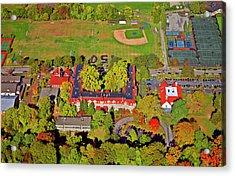 Chestnut Hill Academy 500 West Willow Grove Avenue Acrylic Print by Duncan Pearson