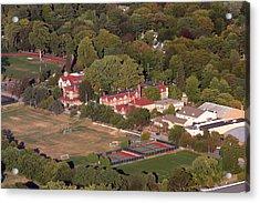 Chestnut Hill Academy 500 West Willow Grove Avenue Philadelphia Pa 19118 4198 Acrylic Print by Duncan Pearson