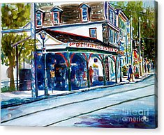 Chestnut Hill Station Acrylic Print by Joyce A Guariglia