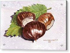 Chestnuts Acrylic Print