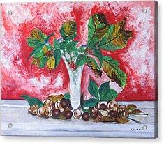 Chestnuts  Acrylic Print by Vladimir Kezerashvili