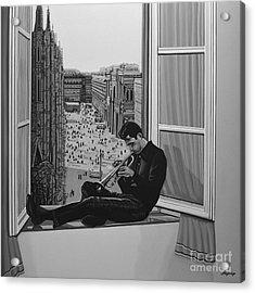 Chet Baker Acrylic Print by Paul Meijering