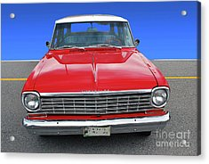 Acrylic Print featuring the photograph Chev Wagon by Bill Thomson