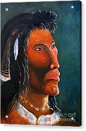 Cheveyo Spirit Warrior  Acrylic Print
