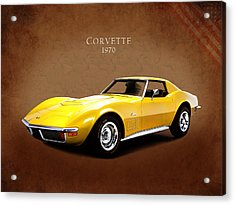 Chevrolet Corvette 1970 Acrylic Print
