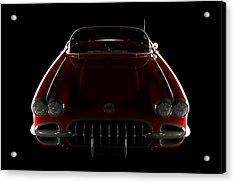 Chevrolet Corvette C1 - Front View Acrylic Print