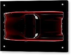 Chevrolet Corvette C1 - Top View Acrylic Print