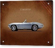 Chevrolet Corvette Stingray 327 Acrylic Print by Mark Rogan